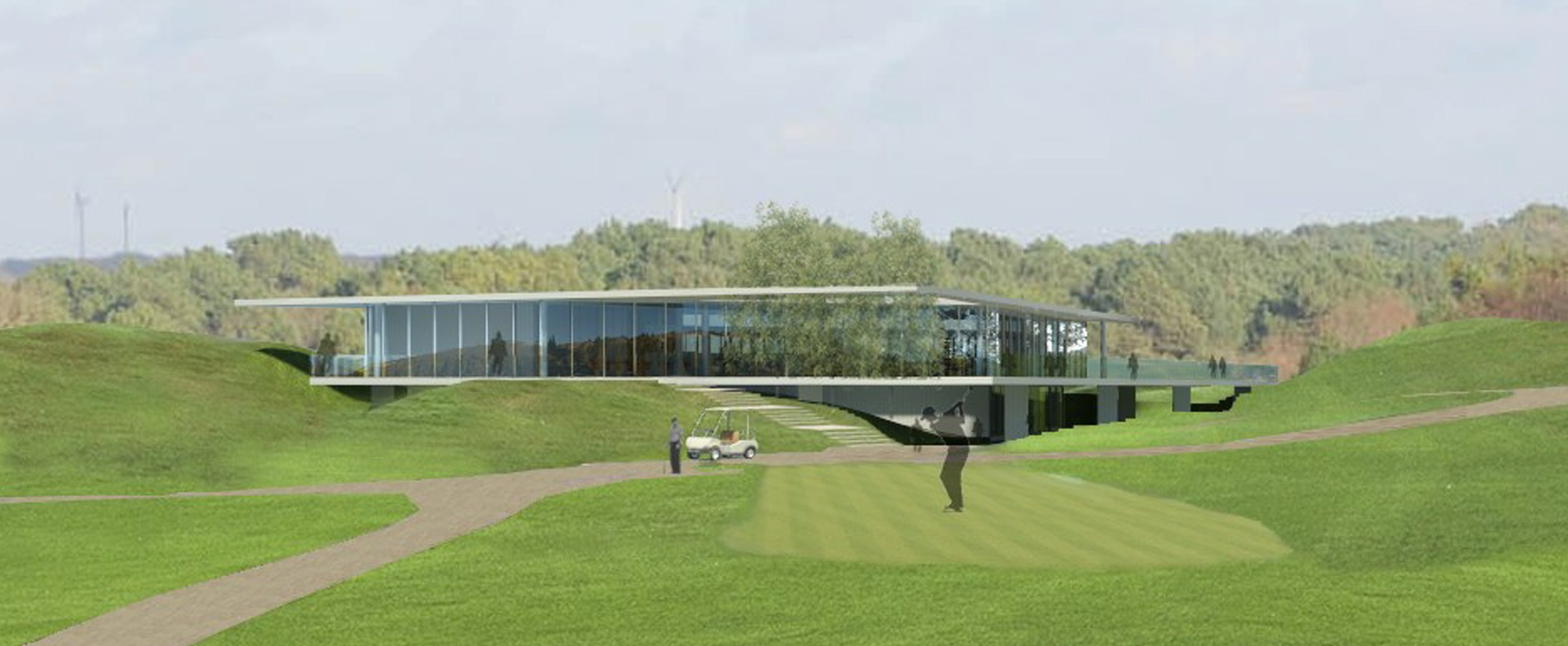 Club house du Golf de la Mer - Photo 1